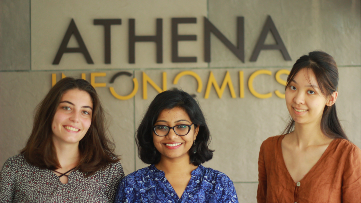 Internships at Athena Infonomics: Develop through Data