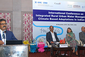Athena Institutionalizes RURBAN Platform for Integrated Rural-Urban Water Management for Climate-Based Adaptations in Indian Cities (IAdapt)